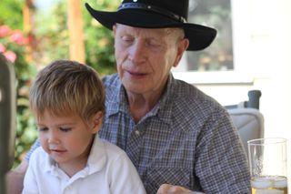 Chase and Grandpa