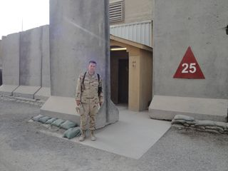 Cory in Afghanistan