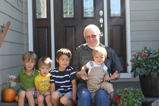 Boys and Grandpa